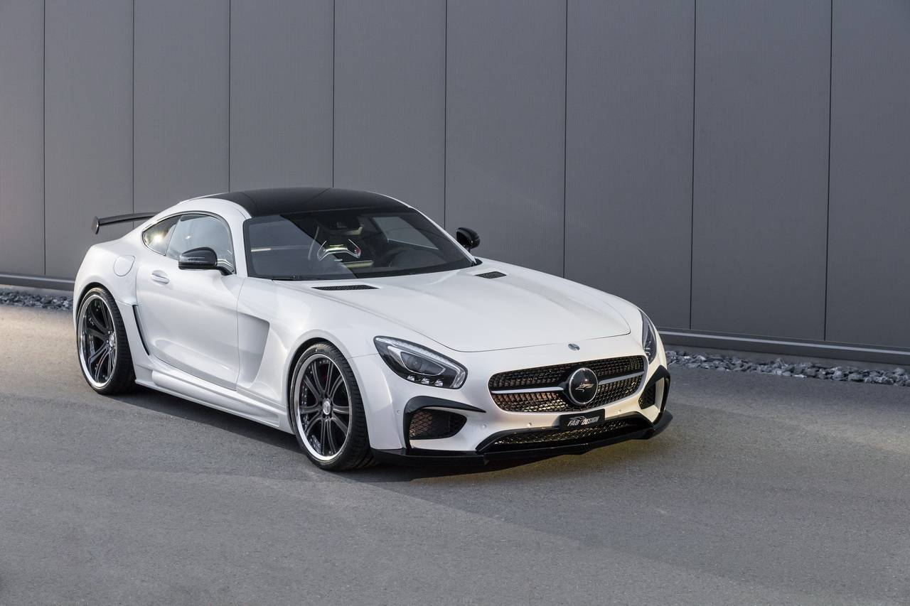 FAB Design Areion Aggressively Upgrades the AMG GT S