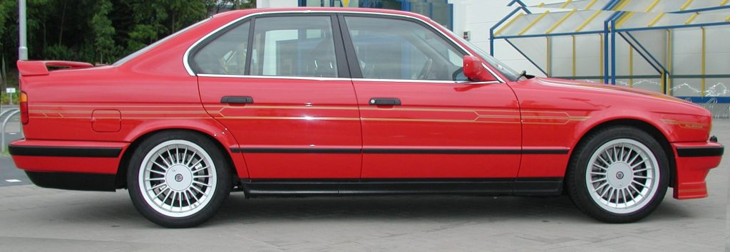 1991 Cars - Alpina-B10-BiTurbo