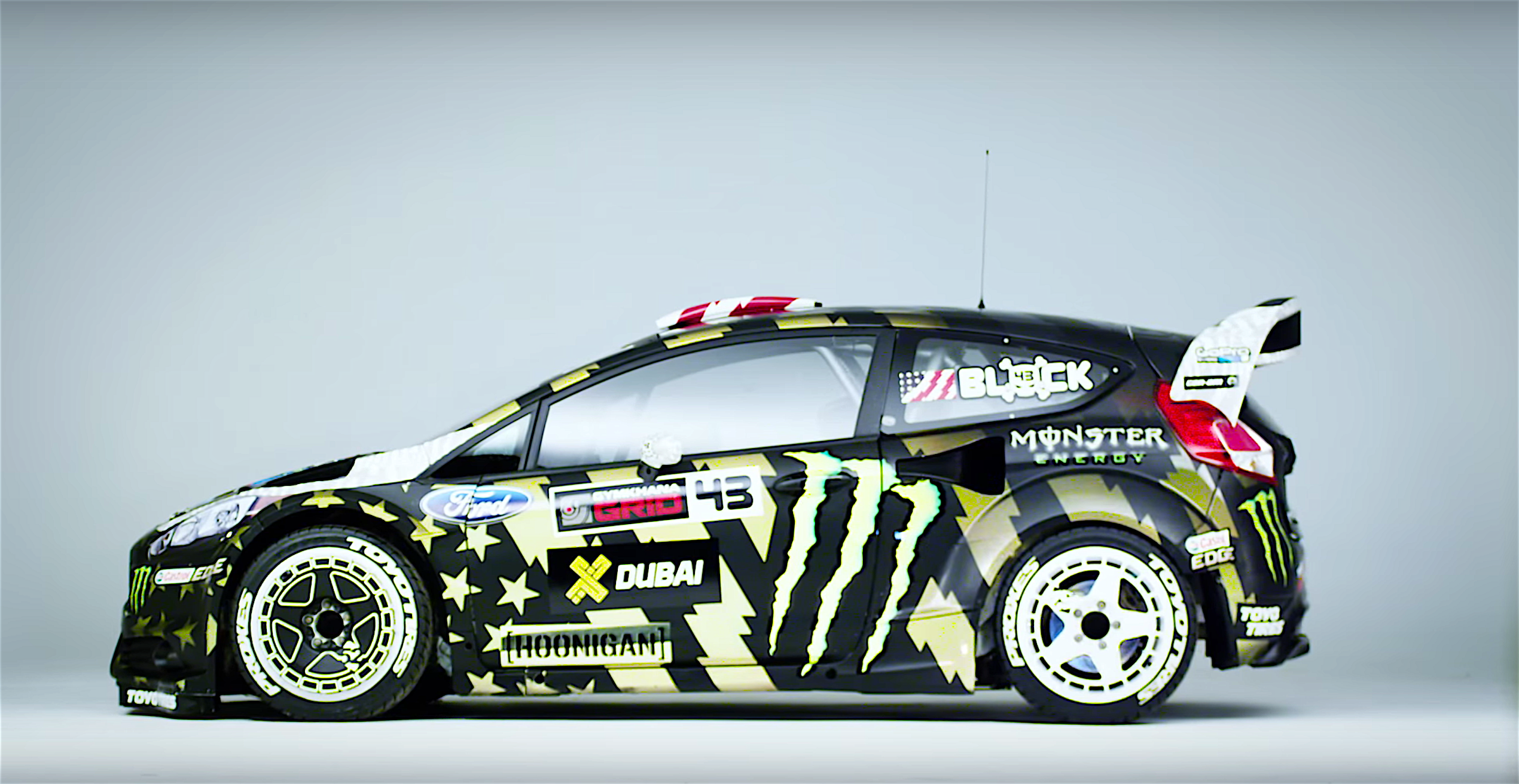 ken block returns in 650hp awd fiesta gymkhana 8. Black Bedroom Furniture Sets. Home Design Ideas