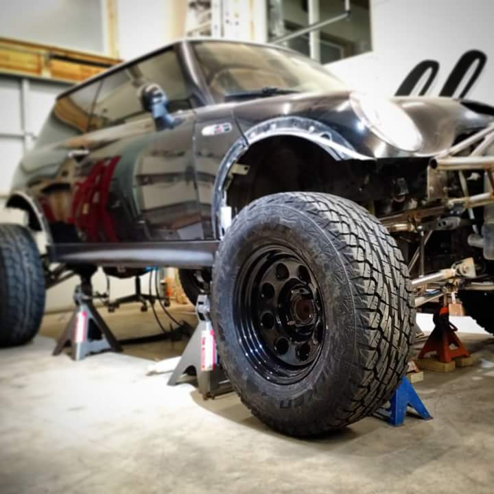 Baja Mini With V8 Power Is A Trolling