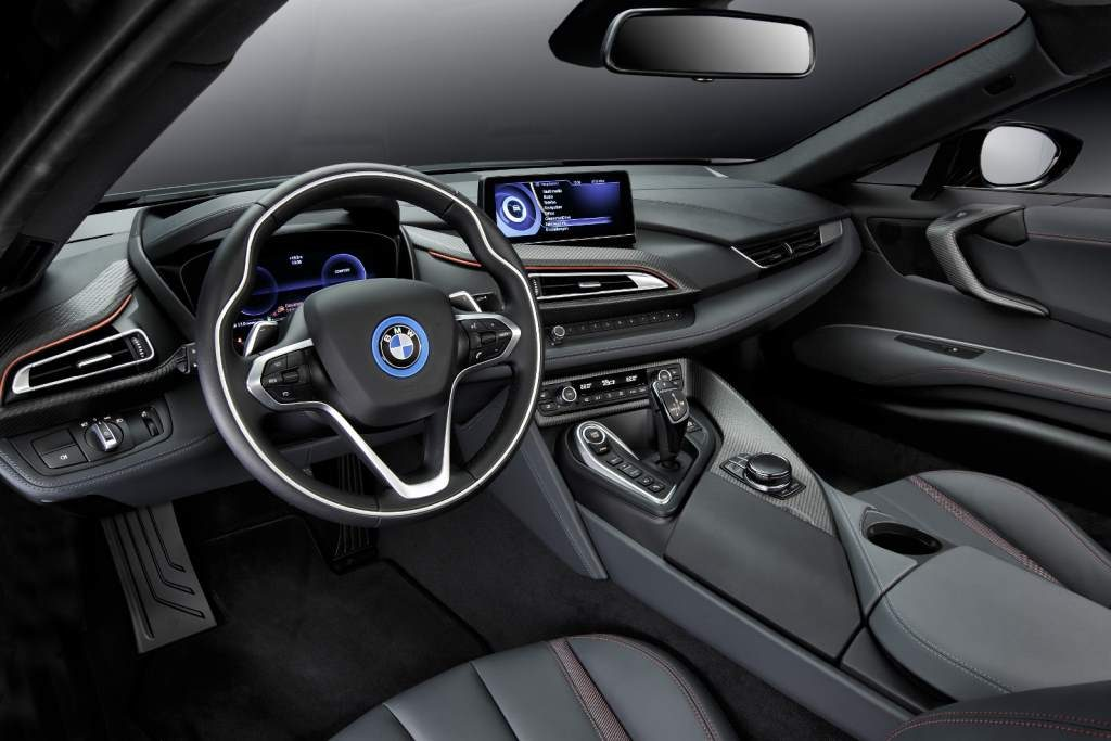 BMW i8 Red Interior
