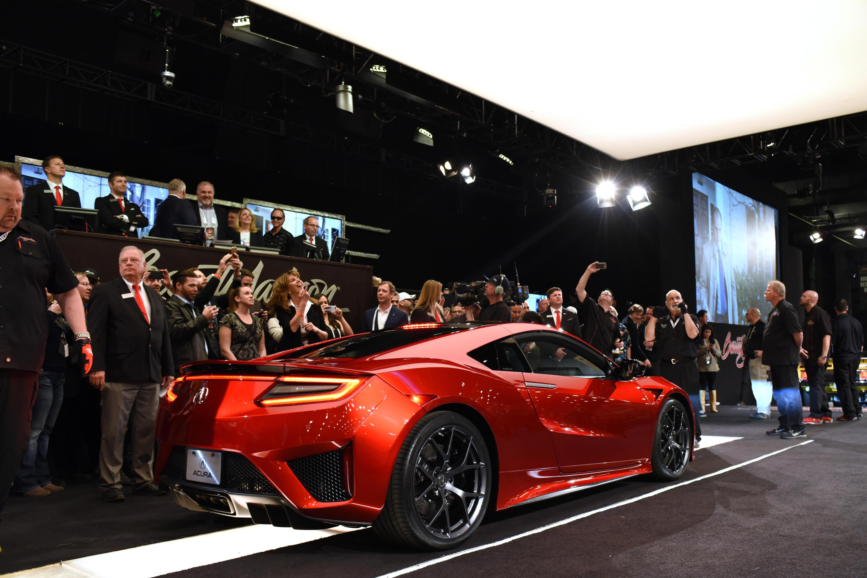 First 2017 Acura NSX Sells for $1,200,000!