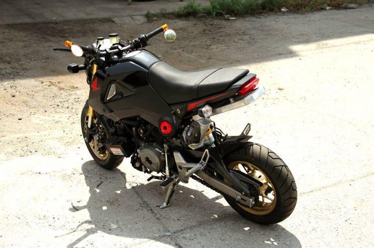 Honda Grom Engine Swap 3