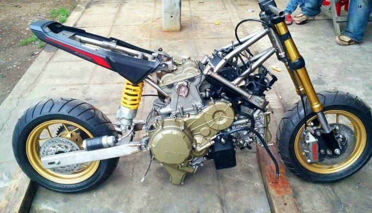 Honda Grom Engine Swap 2