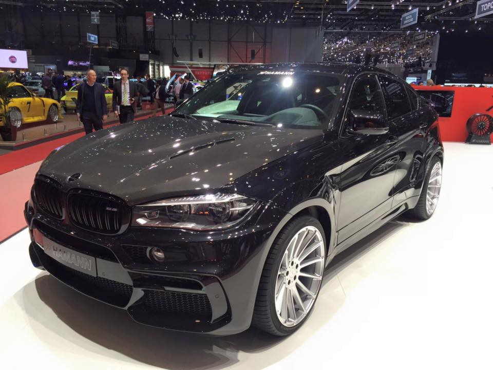 tuners give a diesel some love the bmw x6 m50d by hamann. Black Bedroom Furniture Sets. Home Design Ideas