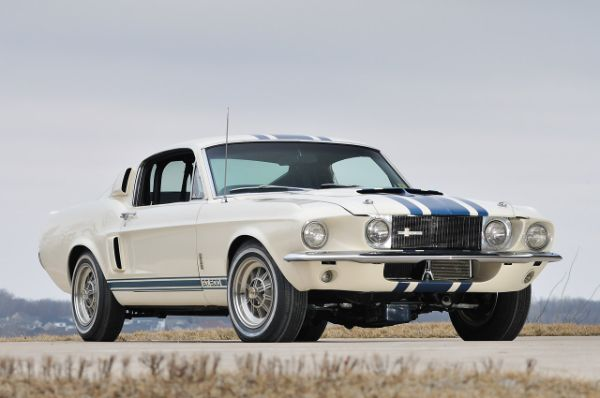 Most Expensive Ford Muscle Cars - 1967 Shelby GT500 Super Snake