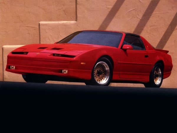 Classic Cars That Will Increase In Value - 1990 Pontiac Trans Am