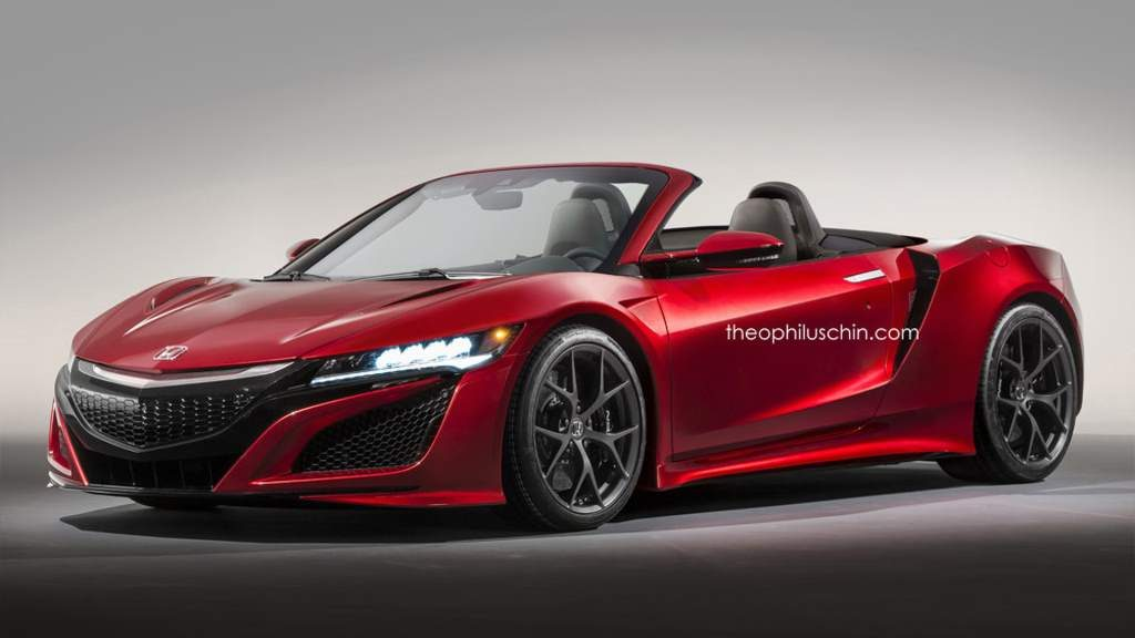 2017 Acura NSX Roadster Rendering Gives Us A Glimpse Of A Better Future