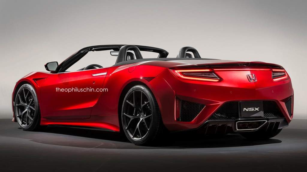 Good 2017 Acura Nsx Roadster Rendering 02