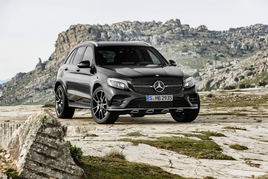 2017 Mercedes-AMG GLC 43 4MATIC Is A Compact Crossover On Hallucinogens