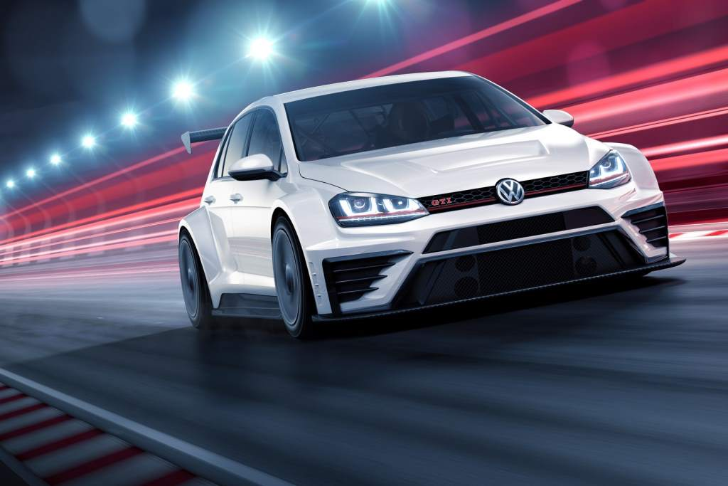 Volkswagen Golf GTI Sports Hatchback. One Of The Fastest Cars Under 30K ...
