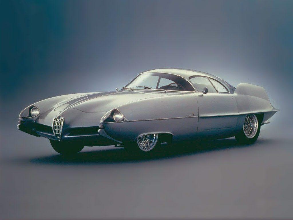 1950s Concept Cars - Alfa Romeo BAT 9