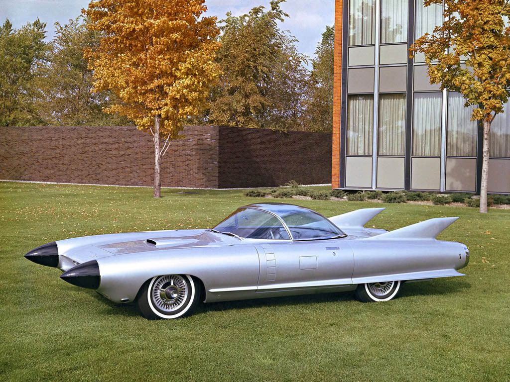1950s Concept Cars - Cadillac Cyclone