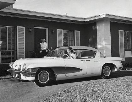 1950s Concept Cars - Cadillac LaSalle II