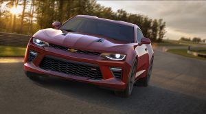 The 2016 Camaro SS was introduced on May 16, 2015. It's the most powerful Camaro SS in the car's history, with a new 6.2L LT1 V-8 engine producing an estimated 440 horsepower and 450 lb-ft of torque. It is offered with an all-new eight-speed automatic transmission, as well as a six-speed manual.