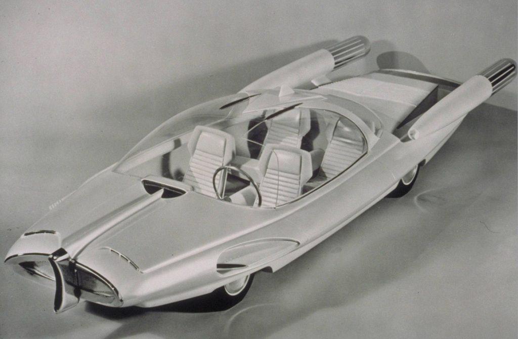 1950s Concept Cars - X-2000.
