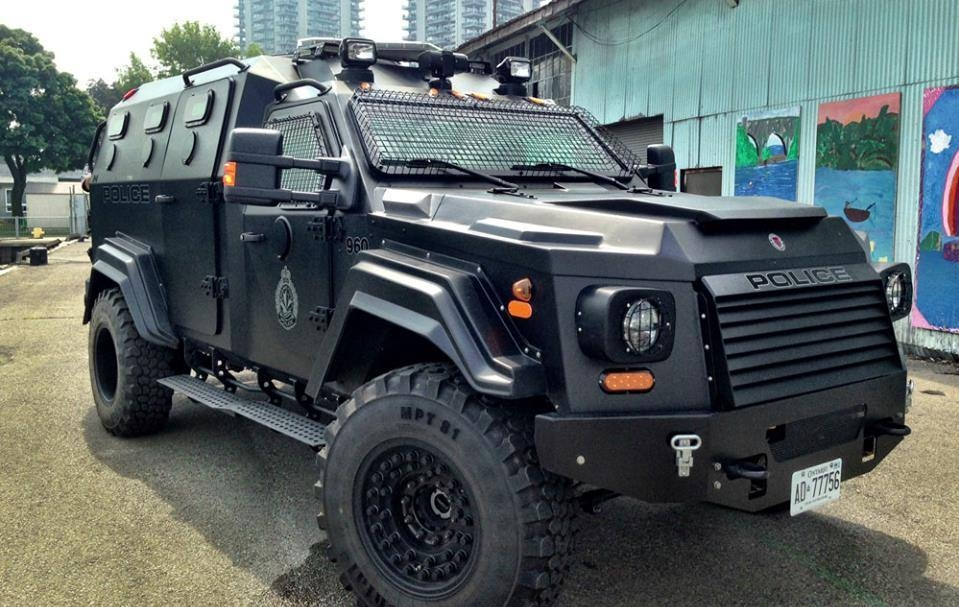 Civilian Armored Vehicles - Armored GURKHA-13