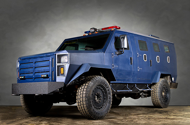 Civilian Armored Vehicles - Armored INKAS-Armored-APC