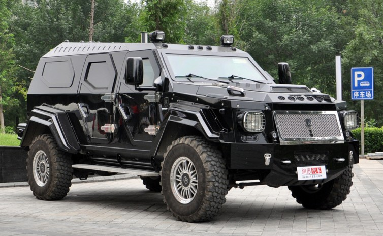 Civilian Armored Vehicles - Armored Knight-XV-china