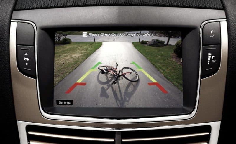 Rear View Backup Camera Screen View