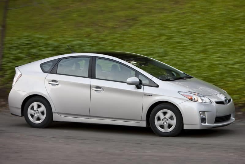 Toyota Prius In Motion