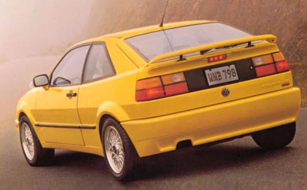 Classic Cars That Will Increase In Value - VW Corrado