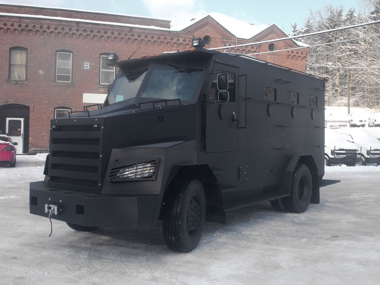 Civilian Armored Vehicles - Armored batt xl