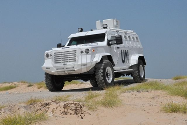 Civilian Armored Vehicles - Armored guardian xl