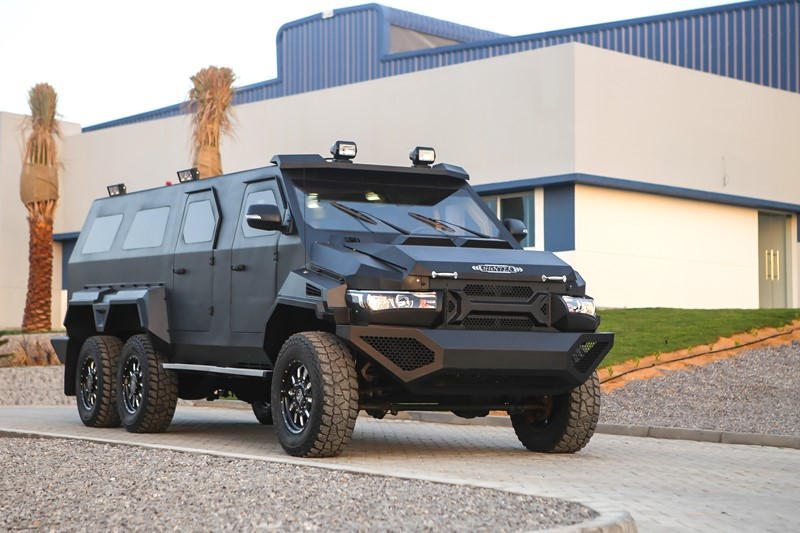Civilian Armored Vehicles - Armored Hunter