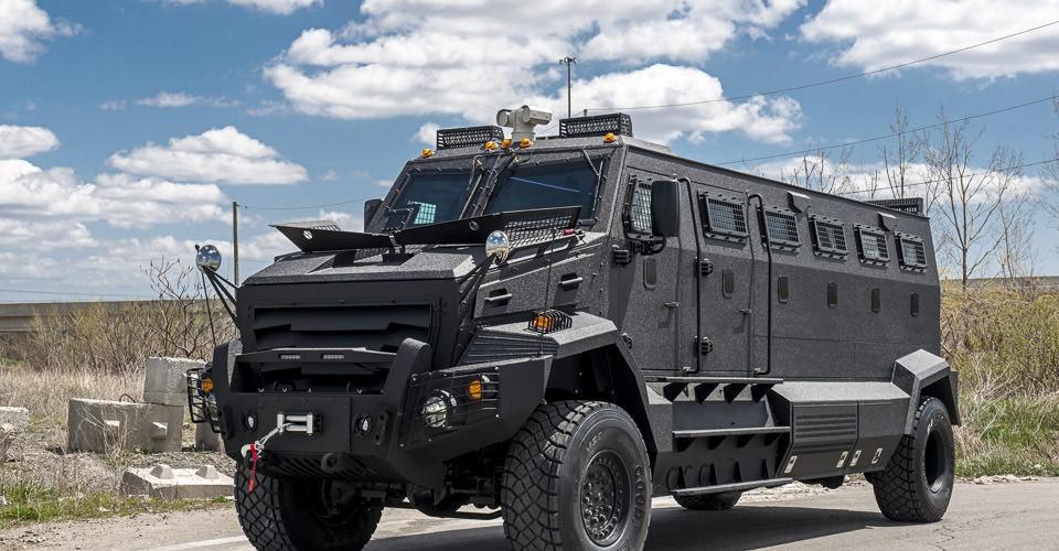 Military Armored Vehicles - Armored inkas-huron-apc