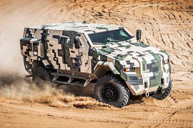 Civilian Armored Vehicles - Armored Scorpion