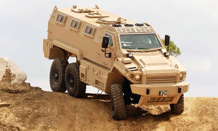 Civilian Armored Vehicles - Armored Typhoon