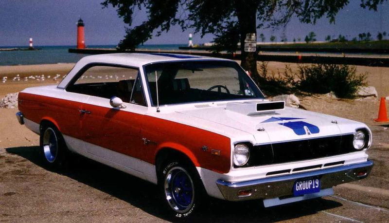 1969 AMC Hurst SC/Rambler Front