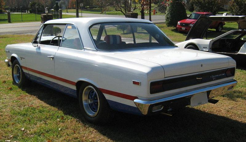 1969 AMC Hurst SC/Rambler Rear