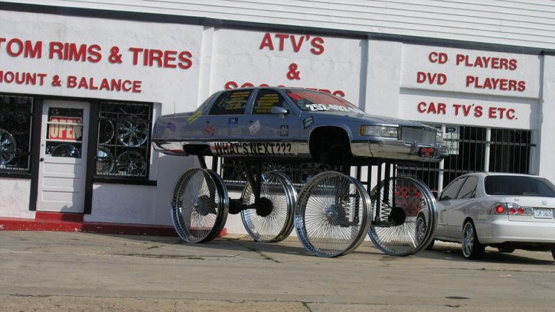 Lifted Rim Rider