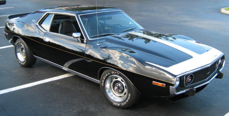 1974 AMC Javelin AMX black front
