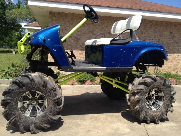 Lifted Golf Buggy