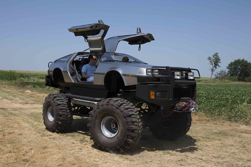 Off-road DeLorean