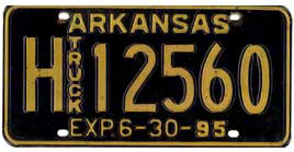 Least Cars Per Capita - Arkansas