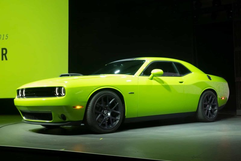 Dodge Challenger Front 3/4