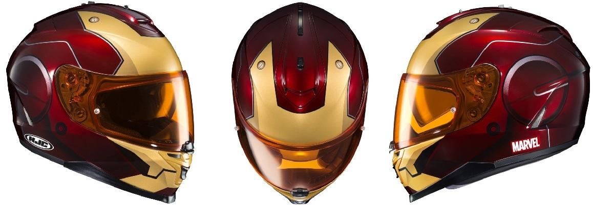 Marvel Motorcycle Helmet 4