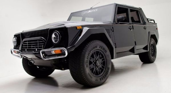 One of 301 Extremely Rare Lamborghini LM002 Up For Sale