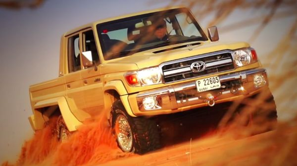 The Amazing Toyota Series 76 6x6 Land Cruiser We Cannot Get