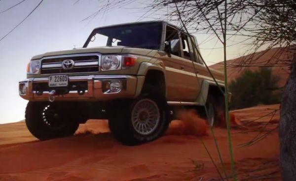 Toyota 76 Land Cruiser 6x6 5