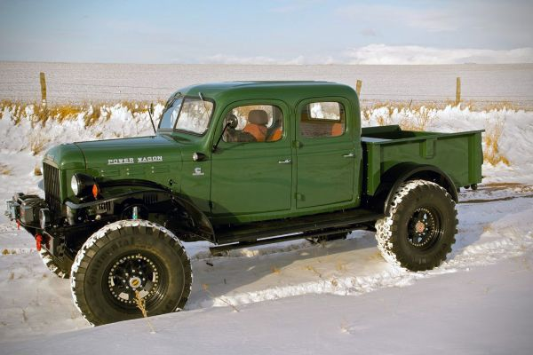 the legacy dodge power wagon old made new
