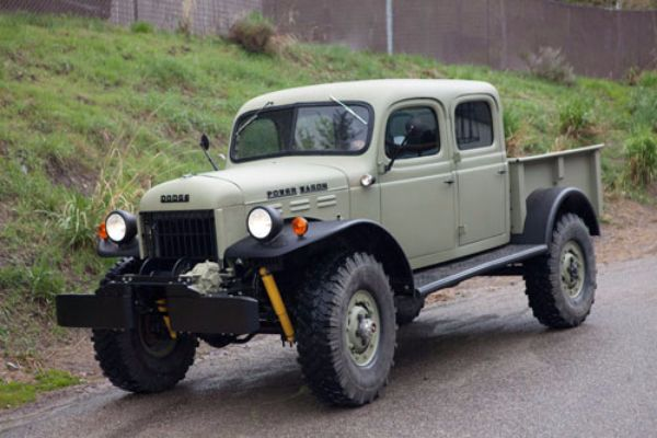 The legacy dodge power wagon old made new for Motorized wagon for sale