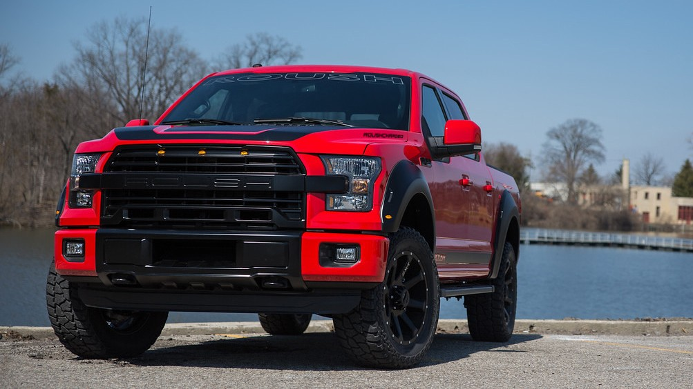 The 600 Horsepower Roush Ford F-150 is the Ultimate Pickup Truck