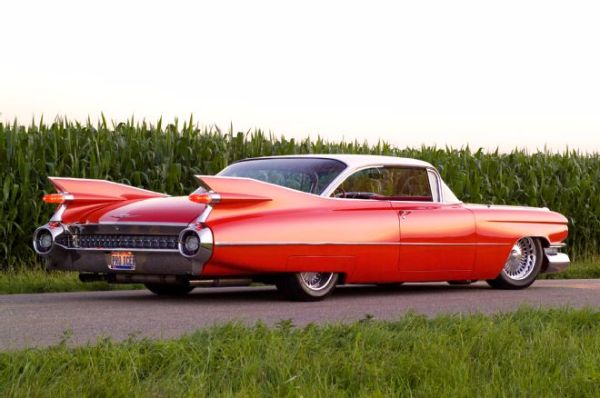 A Brilliant Red 1959 Cadillac Eldorado So Hot It Burns