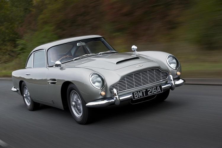 สุดยอดรถยนต์จาก 50 ปีที่ผ่านมา - แอสตันมาร์ติน