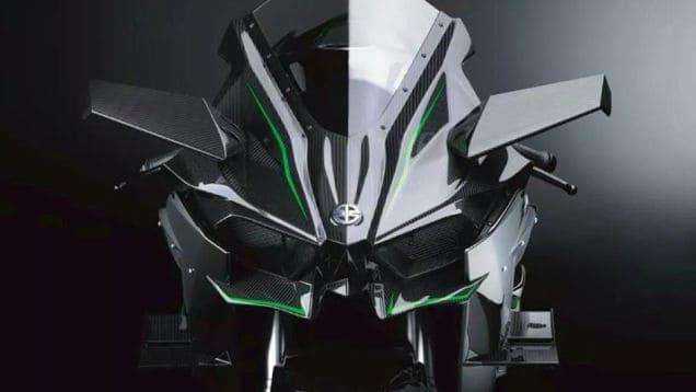 Kawasaki H2 Front View